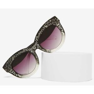 Nasty gal cat eye sun glasses